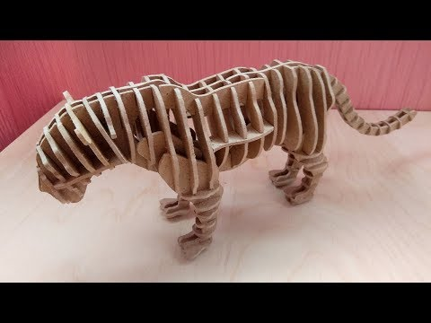 Compound tiger - scroll saw project