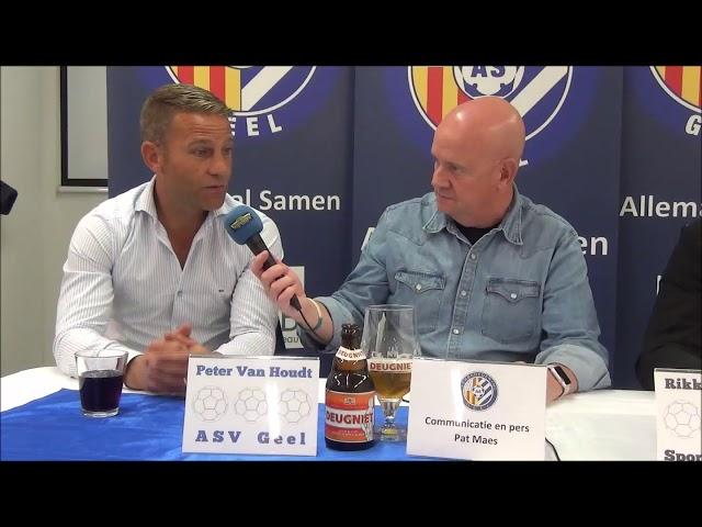 ASV Geel - K Sporting Hasselt   persbabbel   21-9-2019