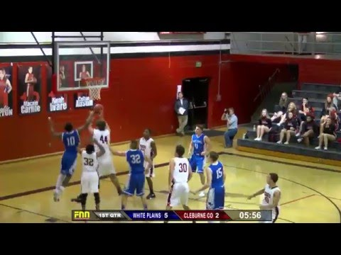 White Plains at Cleburne County Boys High School Basketball