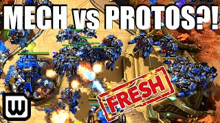 Starcraft 2: IS MECH VIABLE vs PROTOSS?! (Clem vs Showtime)