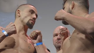 Check out the recap of the action at the UFC 234: Whittaker vs Gastelum Weigh-In.  Subscribe to get all the latest UFC content: http://bit.ly/2uJRzRR  Experience UFC live with UFC FIGHT PASS, the digital subscription service of the UFC. To start your 7-day free trial, visit http://www.ufc.tv/packages  To order UFC Pay-Per-Views, visit http://www.ufc.tv/events   Connect with UFC online and on Social: Website: http://www.ufc.com Twitter: http://www.twitter.com/ufc Facebook: http://www.facebook.com/ufc Instagram: http://www.instagram.com/ufc Snapchat: UFC Periscope: http://Periscope.tv/ufc  Connect with UFC FIGHT PASS on Social: Twitter: http://www.twitter.com/ufcfightpass Facebook: http://www.facebook.com/ufcfightpass Instagram: http://www.instagram.com/ufcfightpass