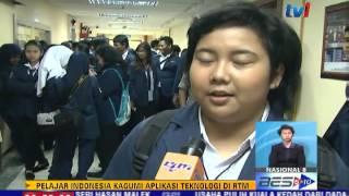 PELAJAR INDONESIA KAGUMI APLIKASI TEKNOLOGI RTM [18 MEI 2015]
