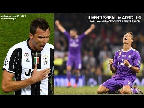 JUVENTUS-REAL MADRID 1-4 - Radiocronaca di Francesco Repice & Giuseppe Bisantis (3/6/2017) Radio Rai