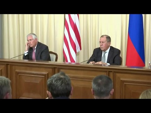 Secretary Tillerson Press Availability with Russian Foreign Minister Lavrov