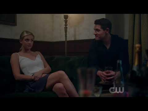 Riverdale 2x05 Nick's Party: Betty insults Veronica (2017) HD