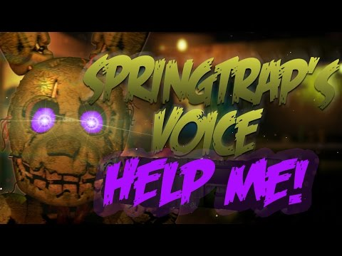 "Spring Trap is saying ""HELP ME""? Files decompiled!"