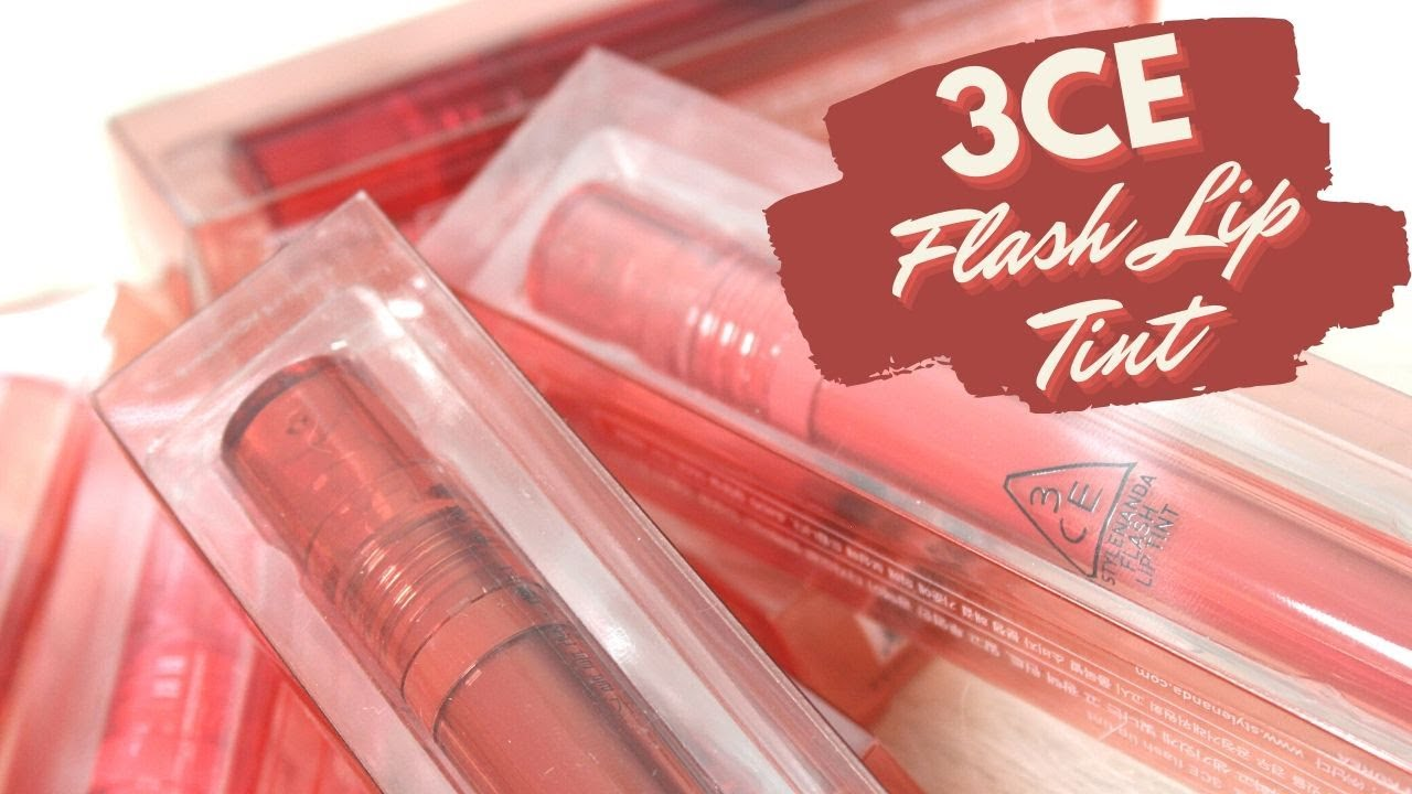 BIYW Review Chapter: #261 3CE FLASH LIP TINT SWATCH & REVIEW