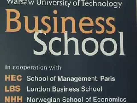 MBA Warsaw University of Technology Business School - About Our School.mp4