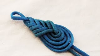 Learn How To Tie A Decorative Paracord Teardrop Knot/Pipa Knot
