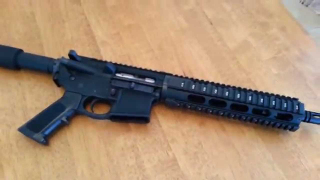 How to build a AR-15 Pistol for $500