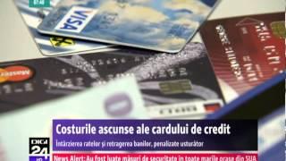 Costurile ascunse ale cardului de credit