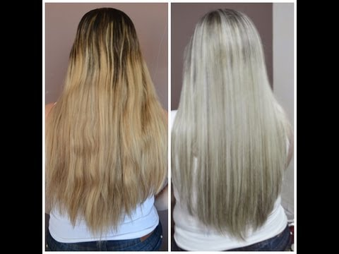MECHAS PLATINADAS ( Magic Color + KERATON Grafite) [HD] po a po ...