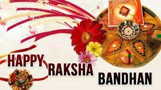 Happy Rakhi Whatsapp Status Video |Rakhi Status |Happy Raksha Bandhan Whatsapp Status Video