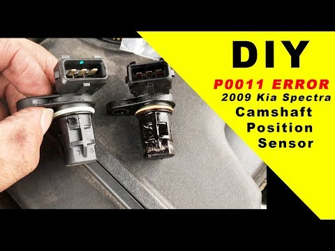 p0011 error code  2009 Kia Spectra Crankshaft Position Sensor DIY FIX