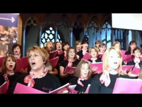 Kibworth Ladies Choir Concert - 'You've got a friend & Sing.mp4