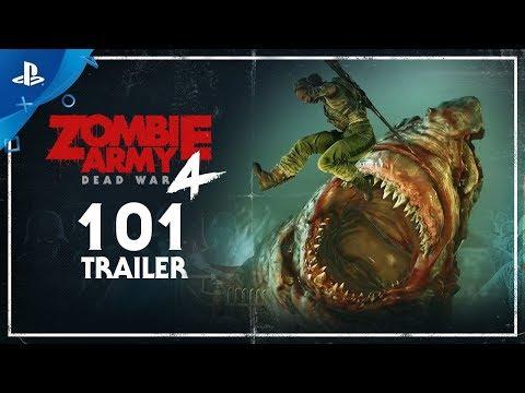 Zombie Army 4: Dead War | 101 Trailer | PS4 jugar zombie army 4