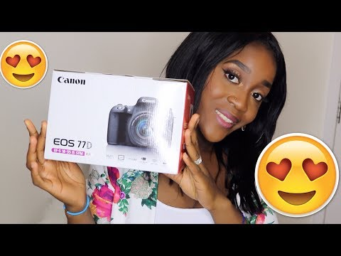 Canon EOS 77D Body Only Digital SLR Camera Unboxing