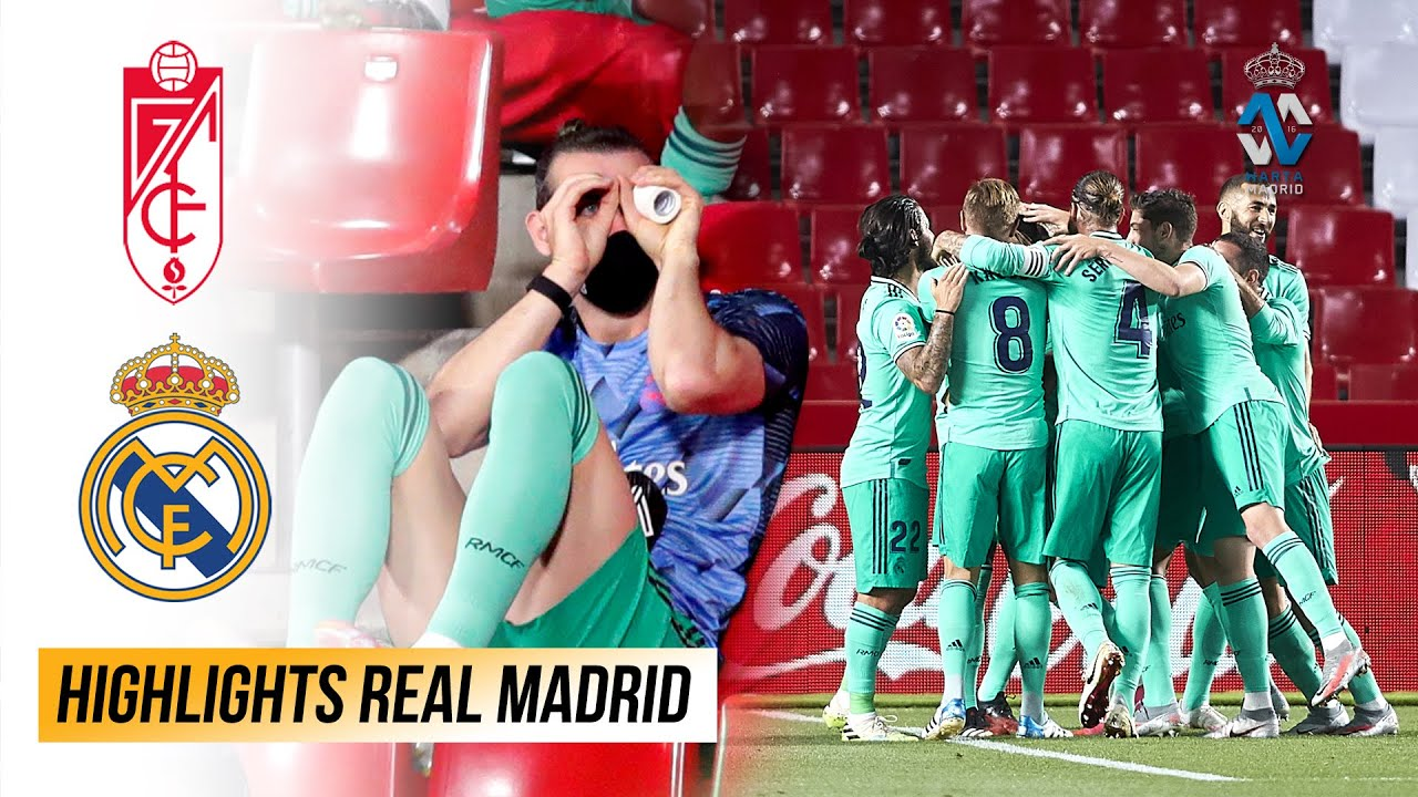 2 Poin Lagi Real Madrid Juara La Liga 2019/20 | Pertunjukan Gareth Bale Berlanjut di Granada