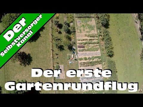 Der erste Gartenrundflug, das Erlebnis