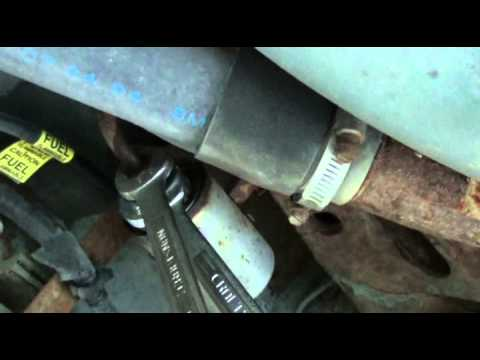 1995 Pontiac Grand Am Fuel Filter Replacement - YouTubeYouTube
