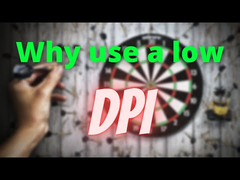 Why do pro gamers use 400 dpi - Why low sens is better