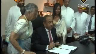 News1st BOC Chairman Ronald Perera assumes office