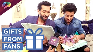 Nakuul Mehta and Leenesh Mattoo receive Gifts From Fans | Exclusive