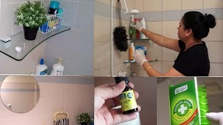 INDIAN Bathroom Cleaning Routine -Germs & Bacteria free (2018) | How To Clean Bathroom | Indian SAHM
