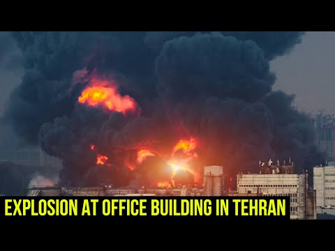 Explosion reported at office building in Tehran.