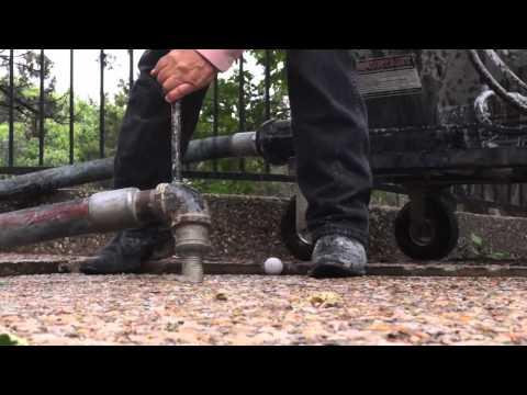 Slabjacking A Driveway Douglas Foundation Repair | Mudjacking | Slab Leveling
