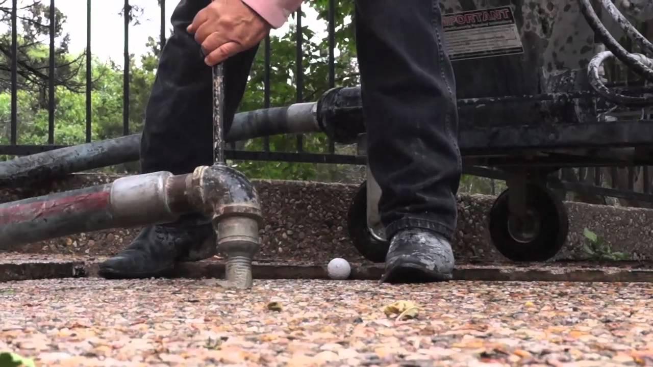 Slabjacking A Driveway Douglas Foundation Repair Mudjacking Slab Leveling You