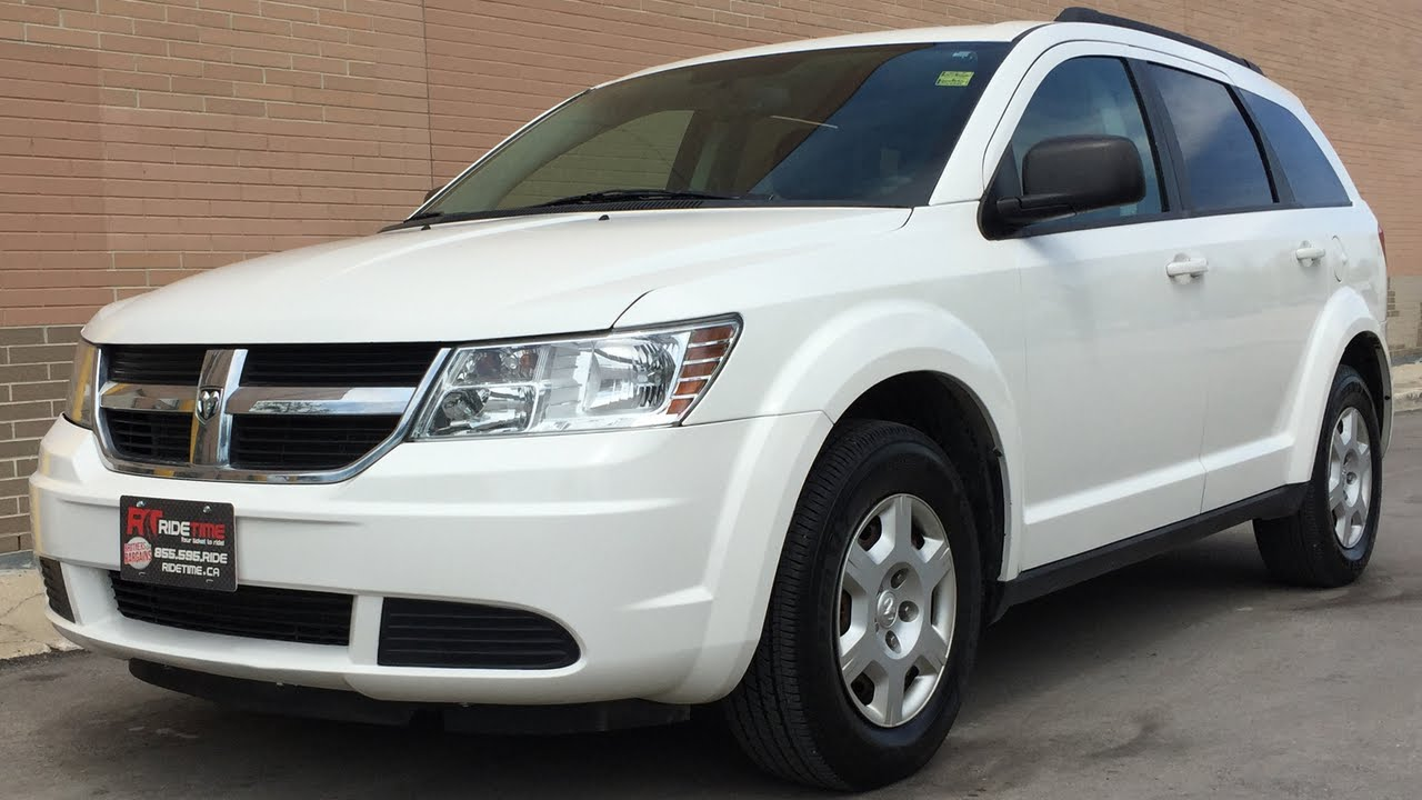 2010 dodge journey se 7 passenger rear a c third row seating youtube. Black Bedroom Furniture Sets. Home Design Ideas