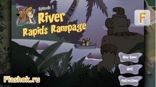 Flashok ru: Видео обзор игры Scooby Adventure - River Rapids Rampage. Episode 1