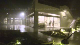 Typhoon Santi / Nari Crashes Into Baler, Aurora Philippines 11th October 2013