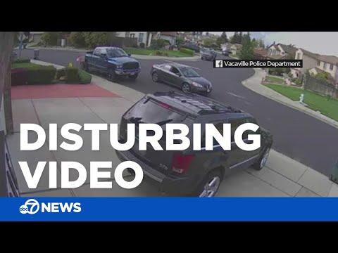 Car follows girl through Northern California neighborhood