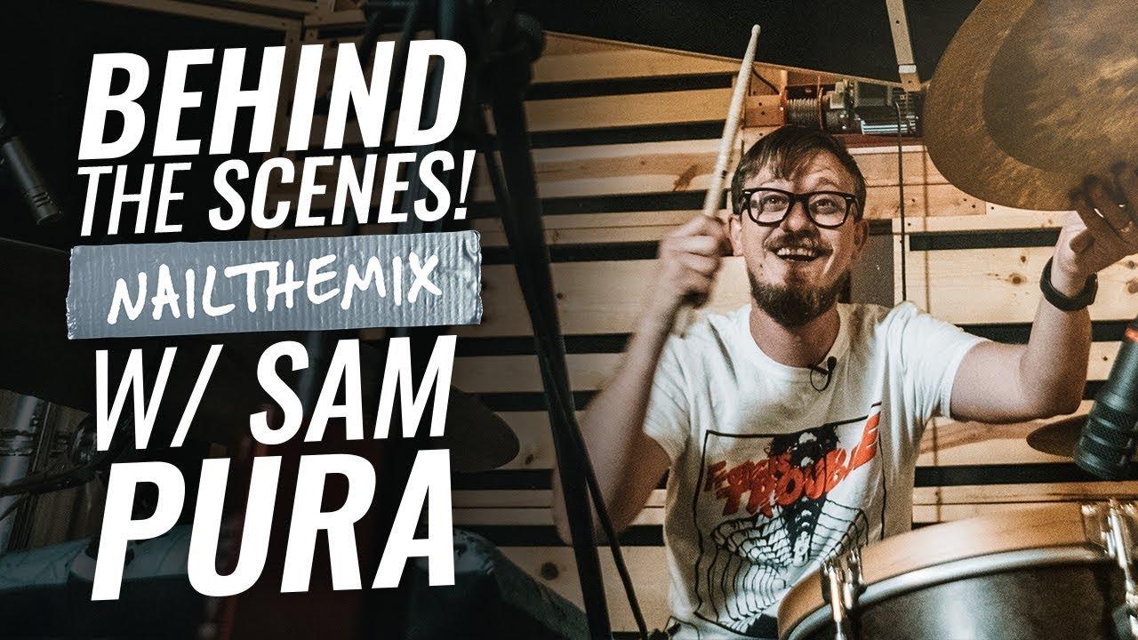 BEHIND THE SCENES W/ SAM PURA - Nail The Mix vlog 09