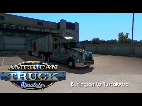 Fayetteville To Tuscaloosa ¦ American Truck Simulator ¦ Coast To Coast Map Mod