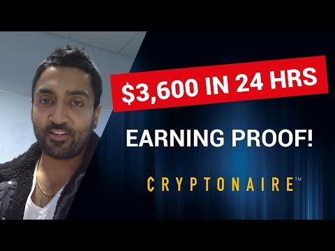(PROOF) - EARNING $3,600 IN BITCOIN -  IN 24 HRS !! - WHILE I WAS SLEEPING !