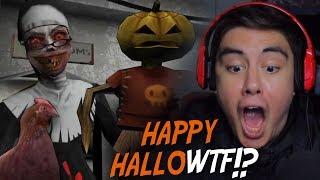 WE GOT INTO THE SECRET PINK ROOM & WE'RE SACRIFICING CHICKENS?! | Evil Nun (Halloween Update)