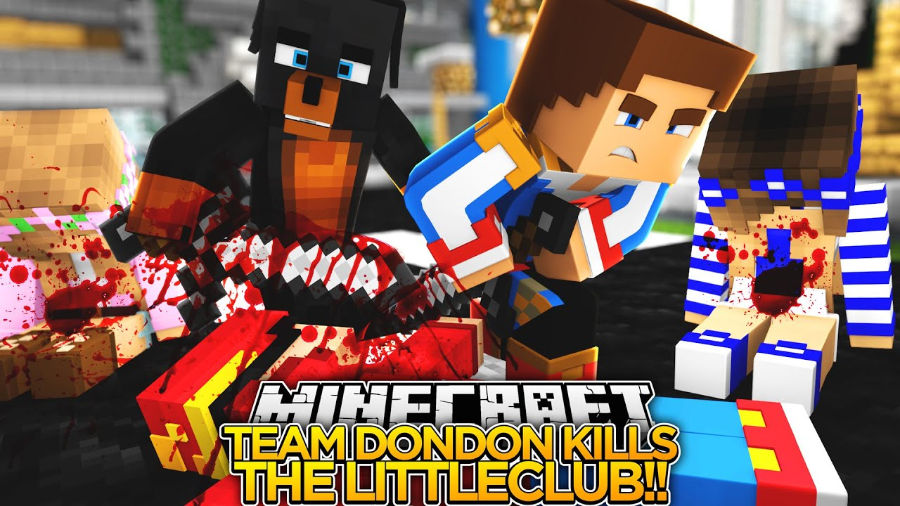 Little Club Hunger Games Minecraft Little Donny