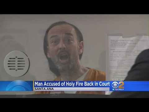 Judge Orders Psychiatric Evaluation For Holy Fire Suspect