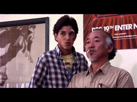 "The Karate Kid - ""Leave Boy Alone"" - (HD) - Scenes from the 80s (1984)"