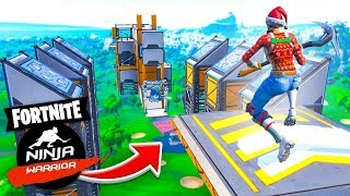 The *INSANE* NINJA WARRIOR COURSE In Fortnite Creative!