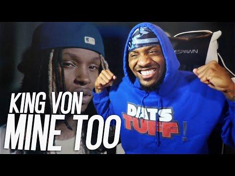 VON REALLY LIVED HIS RAPS! | King Von - Mine Too (REACTION!!!)