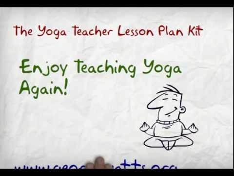 Yoga Teacher Lesson Plan Kit Overview