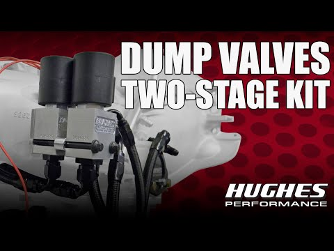 Hughes Performance Pro Series Torque Converter Dump Valve Systems Part 2:  Two-Stage Powerglide Kit