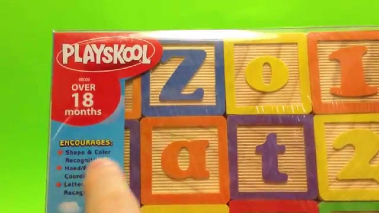 Playskool Abc Blocks