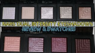 NARS Dual-Intensity Eyeshadows | Review & Swatches