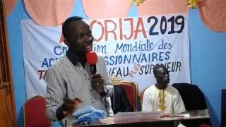 predication avec  Pasteur Freud du Ghana