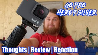 GO PRO HERO 7 SILVER REVIEW!